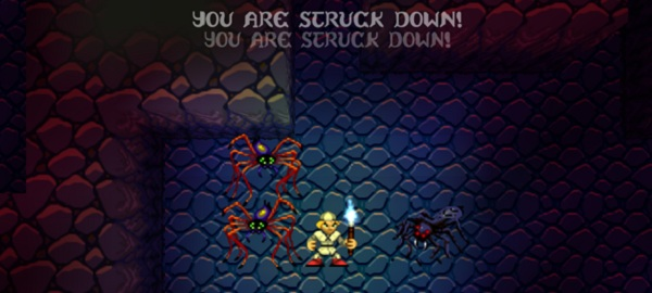 Roguelikes strike you down TWICE