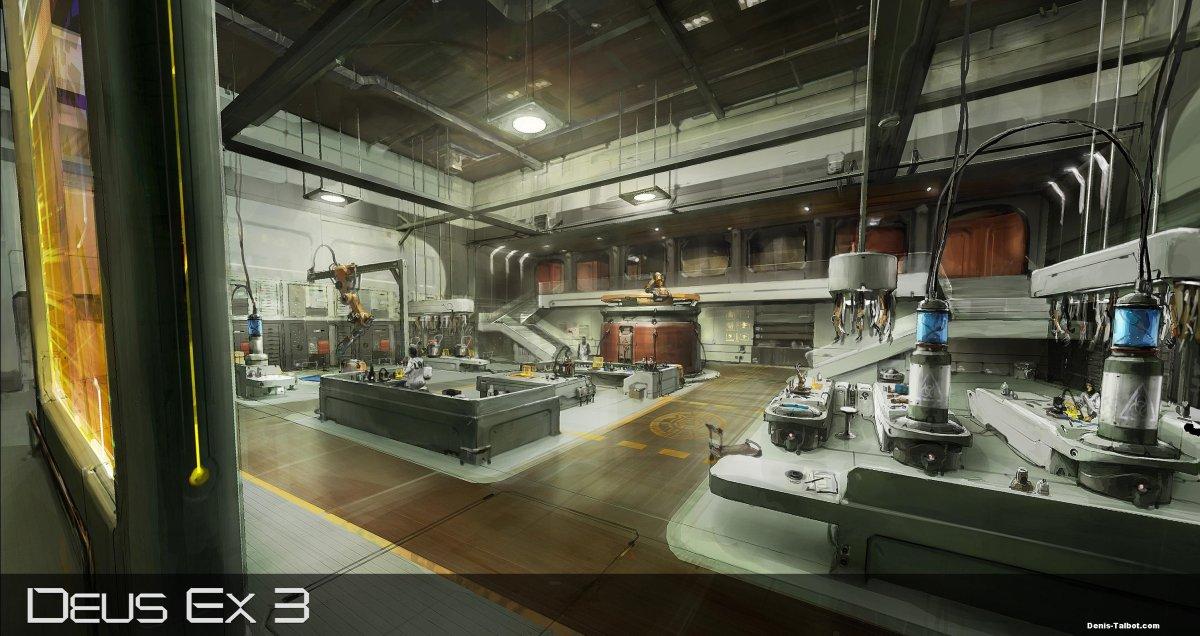 First Deus Ex 3 Concept Art?
