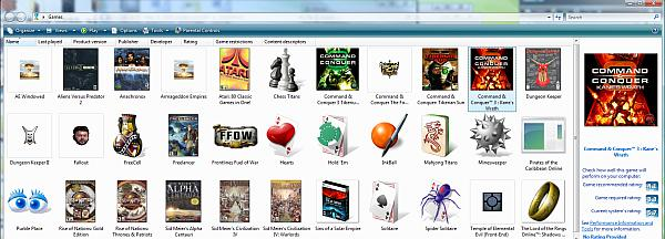My games folder should really be more interesting than this