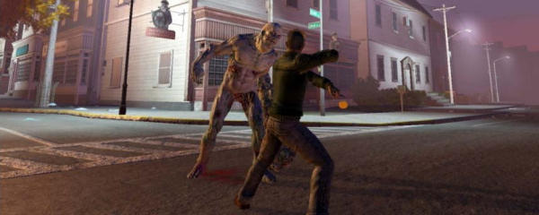 Fist-fighting a seven foot zombie seems a bit of a bad plan.