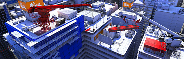 Mirror's Edge - not actually anything to do with Blueprint. But hell, it's exciting