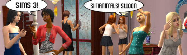 The reaction at a party of Sims fans. Yesterday.
