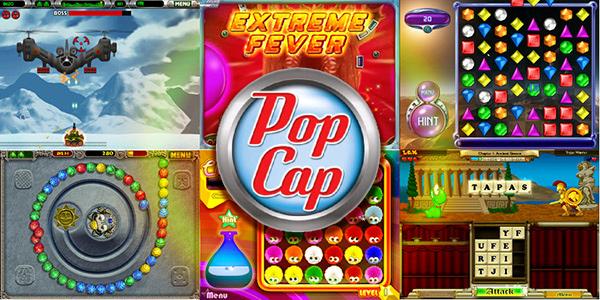Screens Zimmer 4 angezeig: games popcap