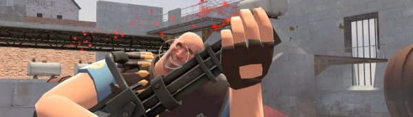 I felt particularly stupid running around TF2 levels, trying to get a shot of the heavy doing a taunt while getting shot. So I like to think that as method blogging.