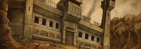And this is a concept art prison