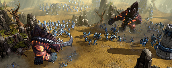 David vs Goliath, only Goliath isn't an absolute cretin with an obvious weak-spot the size of Burma