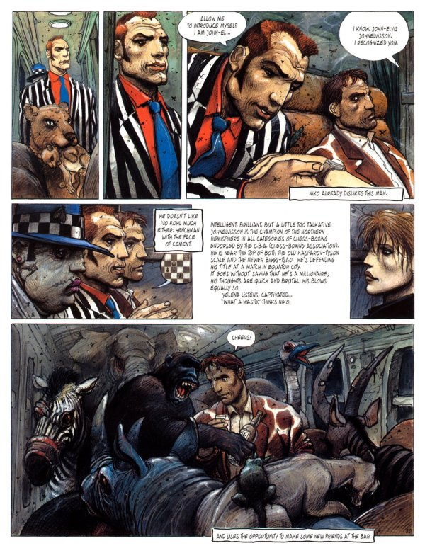 nikopol trilogy The hardcover of the the nikopol trilogy by enki bilal at barnes & noble free shipping on $25 or more.
