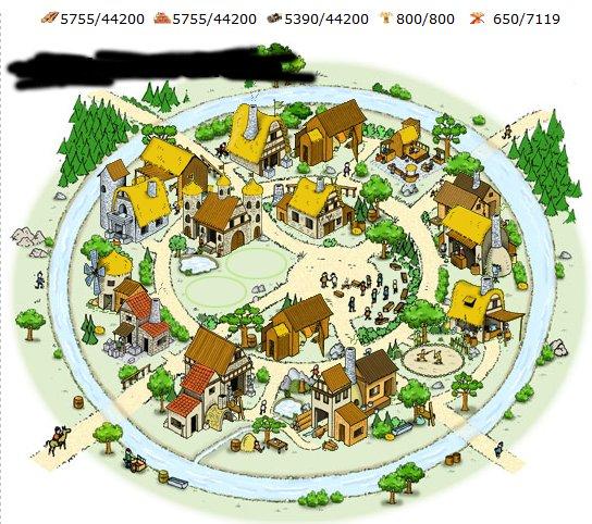 A domitable village