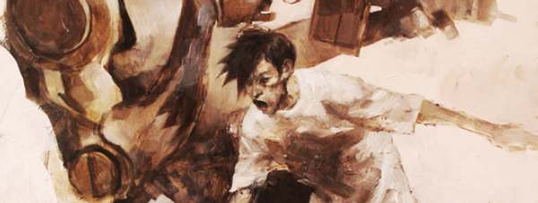 Ashley Wood, Ashley Wood, Hard To Work Out, What's Going On. But pretty!