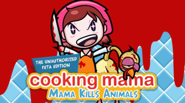 She's mental, that cooking mama.