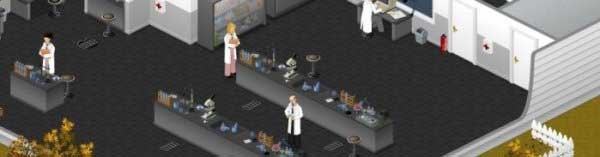Actually, girls in lab coats are hot. Hottt even.