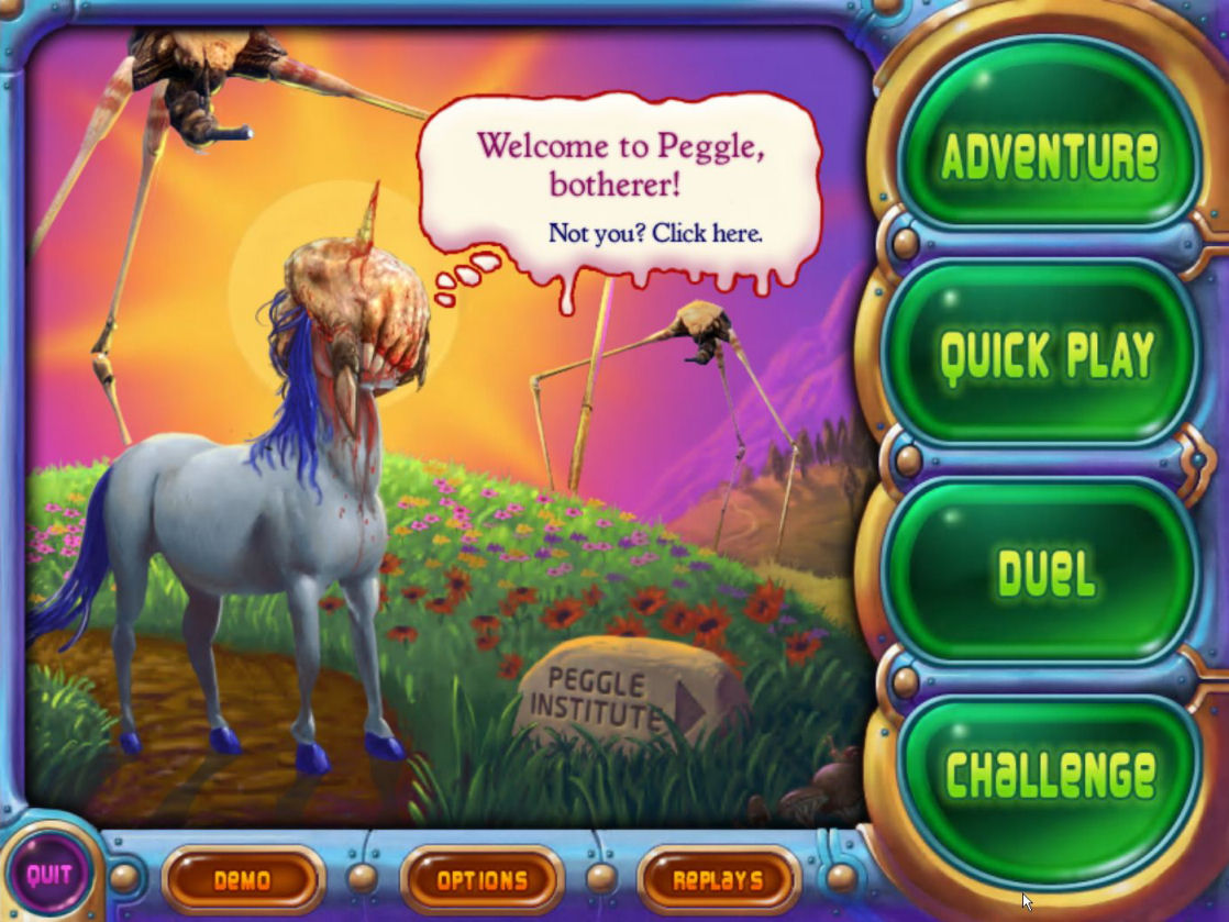 play peggle free without downloading