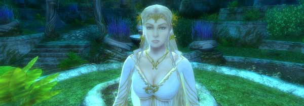 Sexy Galadriel. There's probably a ring gag to go for, but that'll be crass.